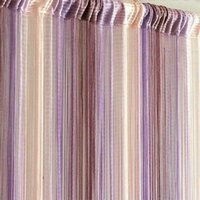 Curtain & Drapes Mixed Colors Line String Window Tassel Door Room Divider Scarf Valance