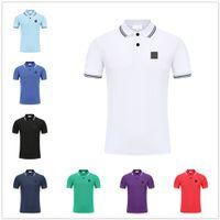 Männer Polos Top Quality Klassische T-Shirts Kurzarm Sommer Baumwolle Stickerei Luxus T-Shirt Neuer Designer Poloshirt High Street Tee