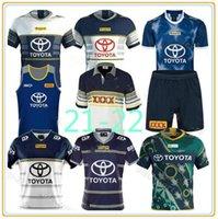2021 2022 Cowboys 25 ans Souvenir édition Rugby Jerseys Nrl Leçon Jersey Cowboy 20 21 chemises S-5XL Uniforme Top Qualité