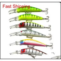 Baits Sports & Outdoors6 Colors 14Dot5Cm 14Dot7G Big Game Lures Plastic Hard Bait Fishing Tackle Pesca Fish Wobbler Minnow Artificial Lure S