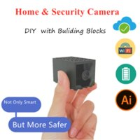 Mini Security Camera WiFi Portable Home Smart Camcorder Covert Nanny Indoor Outdoor Video Recorder Built In Battery Cameras