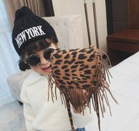 Compare with similar Items Baby Bags Kids Leopard Tassel Handbags Purses Fashion Shoulder Bag Girls All-match Cross-body purse Children Snack Candies Wallet