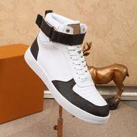 Rivoli Boombox Zapatos ocasionales Entrenadores de lujo diseñadores Zapatillas de deporte Mujeres High Shay Shoe Mens Runner High Top Top Canvas Snekaer