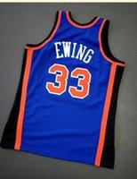 Benutzerdefinierte Männer Jugendfrauen Patrick Ewing Mitchell Ness 96 97 Basketball Jersey Größe S-5XL oder Benutzerdefinierte Name oder Nummerntrikot