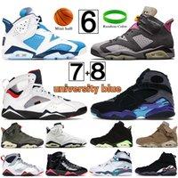 Yeni 6 6s jumpman basketbol ayakkabıları quai54 yelken kahverengi travis scotts oregon ördekler siyah beyaz DMP erkekler erkek eğitmenler sneakers ABD 7-13