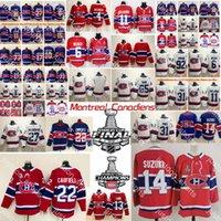 2021 Stanley Cup Montreal Canadiens Hóquei Jerseys Mens Cole Cole Coley Jersey Nick Suzuki Carey Preço Tyler Toffoli Brendan Gallagher Alexander Romanov Costurado