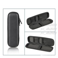 Black Pen Case Portable EVA Hard Shell Pen Holder Office Stationery Case Pouch Earphone Makeup Storage Bag LX1722