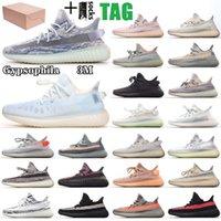 kanye west x Adidas Yeezy Boost 350 V2 Zebra shoes 3m statische reflektierende laufschuhe belgua 2.0 semi gefroren butter gelb blau schuh top qualität designer männer frauen