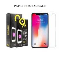 iPhone XS XS에 대 한 Hight 품질 9HD 강화 유리 XS 최대 XR 2.5D 화면 보호기 커버 보호 필름 iPhone UPS