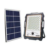 1080P Солнечные лампы Wi-Fi Безопасность камеры Открытый сад Наводнит свет PIR сигнализация CCTV Водонепроницаемый IP66 с 32G SD-картой 100W 200W-300W-400W CRESTECH168