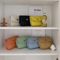 Factory Small 2021 fashion simple versatile summer new makaron ins foreign style small satchel single shoulder bag