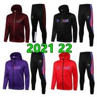 2021 22 Мужские дизайнеры Толстовки Мода Hoodie Man Soccer Sets Tougetsuit Мужская одежда Одежда для одежды Хип-хоп Толстовка