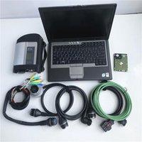Strumenti diagnostici 2021.03V Diagnosi a stelle Compact 4 MB SD C4 con software Laptop D630 EST in SSD Super Speed Full Set Pronto per l'uso Scanner