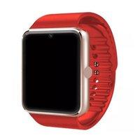 GT08 Bluetooth Smart Watch mit SIM-Kartensteckplatz für Android-Smartphones NFC-Gesundheitswatch + Retail-Box