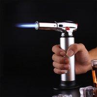 XXL 1300C Butane Scorch Torch Torch Gaz Flame Flame Giant Heavy Duty Rechargeable Torch Micro Culinary BBQ pour un pistolet pulvérisateur