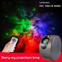 Spotlights Starry Sky Projector Remote Control Laser Projection Lamp LED Night Light Nebula Spotlight Stage Atmosphere Party Lights