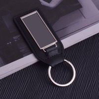 10Pieces Lot cs Luxury Genuine Leather Lanyard Keychain Men Women Square Pattern Business black Car Key Ring Holder Jewelry Gift