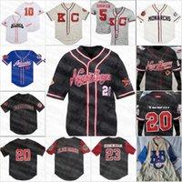Galletas negras Negro League Retro Béisbol Jersey Button-Down Big Boy Homestead Black Sox de alta calidad Bordado Jerseys Nombre y número personalizado