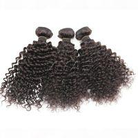 3A 3B 3C 3C Peruano Afro Kinky Cabelo Encaracolado 8 a 24 polegadas Virgem Venham VMAE Cabelo Não Transformado Cabelo Curly Opp