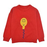Pullover Cartoon Kids Clothes Girls Sweater Spring & Autumn Children Boy Knitting Long Sleeve O-neck Clothing 3-7 Years