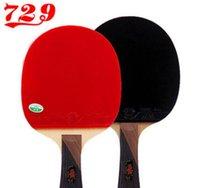 Оптовая продажа 729 3 звезды настольный теннис Pingpong Bat настольный теннис ракетки Pingpong Paddles Tenis de Mesa 87022