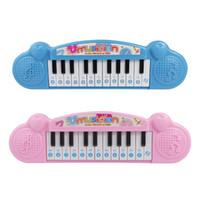 Micro tastiera elettronica strumento piano strumento principianti bambino prima infanzia musica giocattoli ragazza ragazza neonata piccolo pianoforte per bambini ragazza 724 x2