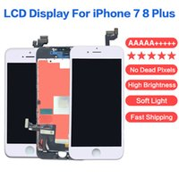 Grade AAAAA +++++ High Brightness LCD Display Panels For iPhone 7 8 Plus Touch Screen Digitizer Assembly No Dead Pixel Soft Light