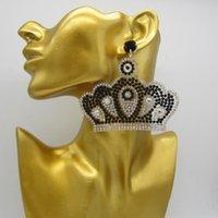 Dangle & Chandelier Zouchunfu Drop Crown Earrings Bohemian Crystal Pearl For Women Handmade Jewelry 2021