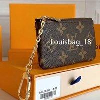Chave Bolsa Moda Moda Mens Anel Titular de Cartão de Crédito Moeda Bolsa de Luxo Designers Mini Carteiras Saco Bolsas De Couro