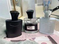 الراقية العلامة التجارية العطور 3 قطع مجموعات Aventus تويد الفضة الرائحة المياه الجبلية توقيت طويل الأمد كولونيا 30ML * 3