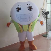 Halloween white teeth Mascot Costume High Quality customize Cartoon tooth Anime theme character Adult Size Christmas Birthday Party Fancy Outfit