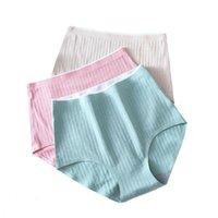 Women's Panties Underwear 3PCS Women Soft Breathable High Waist Briefs Knicker Underpant 3PCS Set Underpants Calcinhas