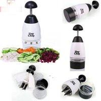 Légumes Légumes Jouez à la main Outil à la main Home Machine Machine Végétine Garlic Triturator Kit de coupe avec boîte de vente au détail DHF9210