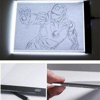 LED Dibujo Copia Pad A5 Tamaño Tamaño Pintura Juguetes educativos Creatividad para niños 3 Nivel Dimmable Copy Pads Derocicación de estudio de niños LSK1455