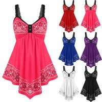 Casual Dresses Women Lace Slip Mini Dress Summer Lady Sleeveless Backless Patchwork Swing Asymmetrical Party Vestidos Mujer WDC7960