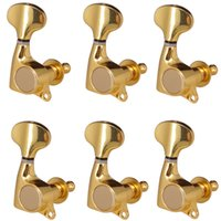 Golden Guitar Sealed Tuners Machine Heads Tuning Peg Sealed 6R