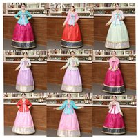 Ethnic Clothing Dance Korean Traditional Dress For Adult Women Asian Court Princess Stage Performance Fairy Hanbok Top Skirt Fashions