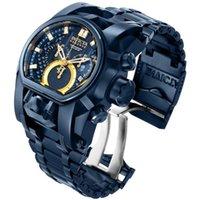 Alta qualità 3A Invicta Mens Orologi di lusso Riserva Bolt Zeus Series Model 28632 Guarda Relojes de Marca
