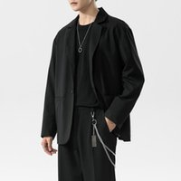 Men's Suits & Blazers 2021 Spring Autumn Luxury Korea Casual Fashion Brand High Quality Slim Fit Suit