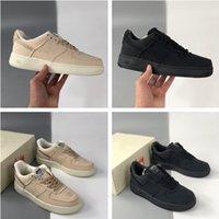 High Quality Stussy Low Triple Black Skateboard Shoes Rice White Men Women Casual Street Sneakers CZ9084