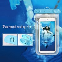 Outdoor Diving Waterproof Bag for Phone PVC Sealed Transparent Waterproof Case Smart Touch Screen Swimming Phone Water Proof Cover