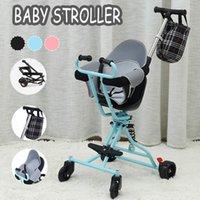 디자이너 럭셔리 유모차 아기 아이 4 바퀴 / 걷는 아티팩트 / 거리 / 거리 / 사무실 안티 충격 흡수 시스템 + 가방
