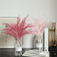 Decorative Flowers & Wreaths Beautiful Light Color Healing System Mist Bamboo Leaf Grass Accessories Simulation Flower Wedding Home And Deco