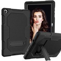 Tablette pour Huawei T3 9,6 Honor 6 / Profitez 10.1 Honor V6 Matepad Pro 10.4 10.8 T5 M5 Lite 10,1 3 Couche Protection avec des fonctions Kickstand Couverture antichoc