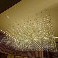 Sarkıt Lambaları Modern LED Kristal Taş Luster Pendente Mutfak Yemek Bar Asmak Halka Lambası Avize Rooom Salon
