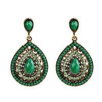 Designer Bohemian Feng Shui ear drop nail rice bead e048 wholesale charms studs