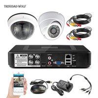 4CH NVR Kit intérieur / extérieur imperméable IP Video Security System Système de surveillance de la vidéosurveillance Systèmes d'enregistrement réseau