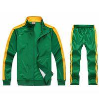 Men's Tracksuits 2Pcs Set Sweatsuit Sportswear Tracksuit Men Jacket And Pants Sets Training Suit Autumn Winter Spring Sporting Track