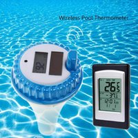 Solar Energy Digital Wireless Swimming Pool Thermometer SPA Floating Temperature Meter Time Alarm Spa Hot Tub Supplies