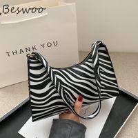 Borse da donna HBP Moda Zebra Stampa in pelle Simple Simple Arear Shoulder Borse a spalla femminile Borsa Borsa Borsa Borsa Borsa Borsa